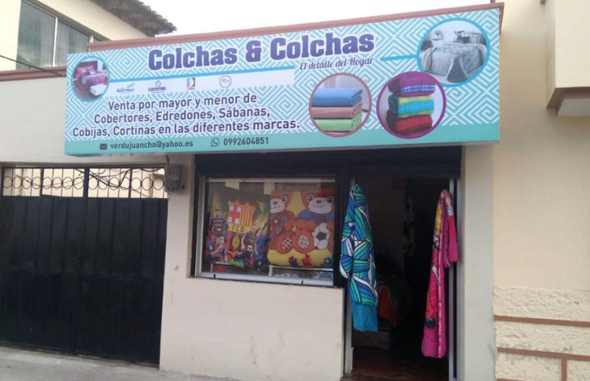 Caja de luz - COLCHAS Y COLCHAS