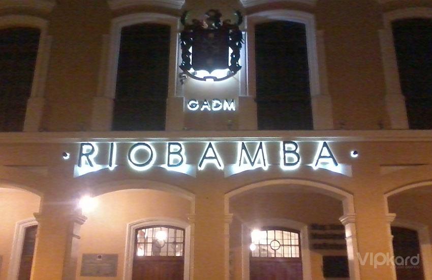 Letras de bloque - GADM RIOBAMBA