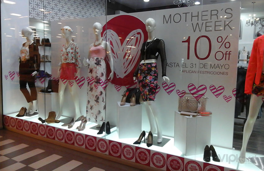 Merchandising - Día de la Madre - SWEET & LOVE