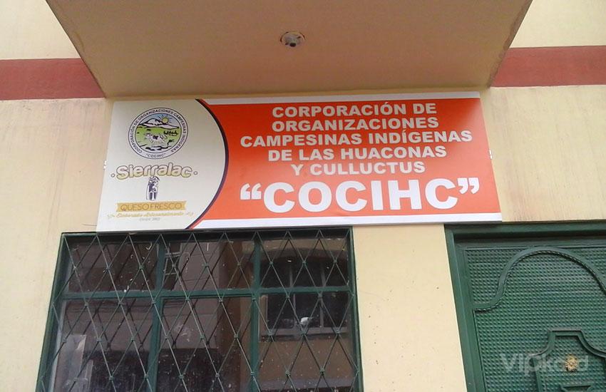 Rótulo publicitario - COCIHC