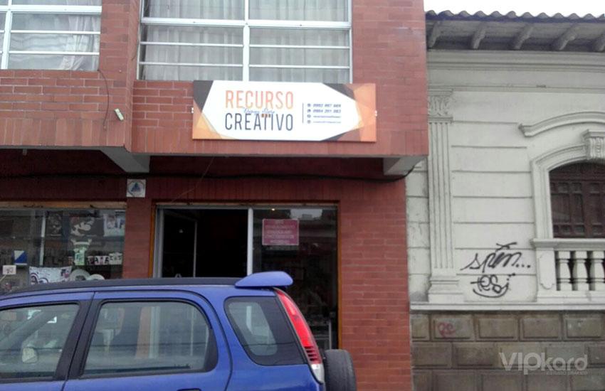 Rótulo - RECURSO CREATIVO